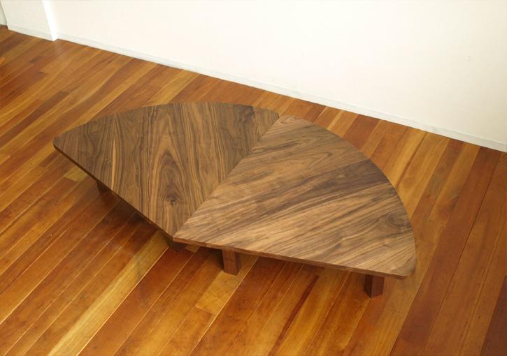ウォールナット ローテーブル