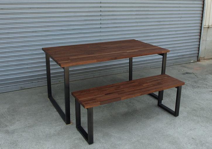 鉄脚 テーブル/ベンチ